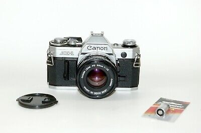 Canon AE-1 35mm Camera with 50mm f/1.8 Lens, Serviced, New Battery