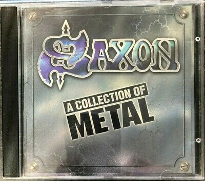 SAXON - A Collection Of Metal  CD  Heavy Metal, Hard Rock, NWBHM, Iron Maiden