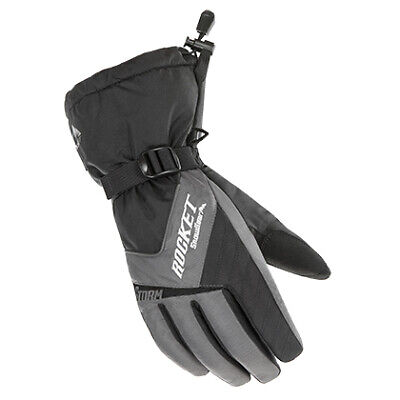 Highway 21 Unisex-Adult Jab Perforated Touch Screen Gloves Black X-Large 489-0017X