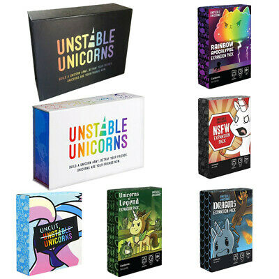 Unstable Unicorns Main Card Premium Edition 5 Expansion Cards Party Card Game