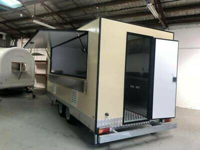 4.5m mobile food kitchen/trailer/cart/truck/booth/caravan