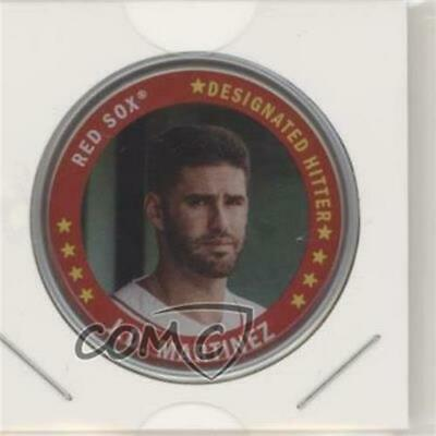 2019 Topps Archives Coins #C-14 JD Martinez Boston Red Sox Baseball Card