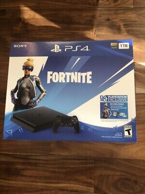 NEW Sony Playstation PS4 Slim 1TB Fortnite Neo Versa Console Bundle