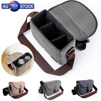 Waterproof DSLR SLR Photography Carry Bag Lens Case For Canon Nikon Sony