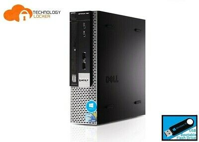 Dell Optiplex 780 USFF Desktop PC Intel E7500 @2.93GHz 4GB RAM 160GB Win 10