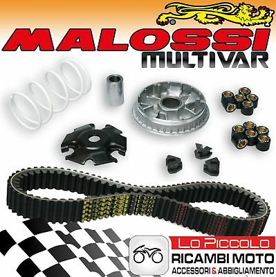 Kit Malossi Variatore Multivar + Cinghia X Belt Malaguti Madison Rs 3 250