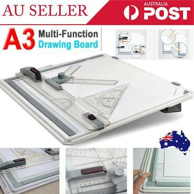 Pro A3 Drawing Board Table with Parallel Motion and Adjustable Angle Drafting AU