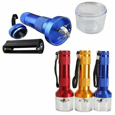 4 x 14.5cm Electric Smoke Spice Grinder Automatic Herb Crusher