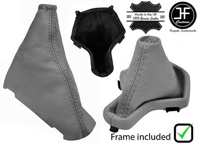 Grey Leather Automatic Gear+Plastic Frame+Handbrake Gaiter For Freelander 2