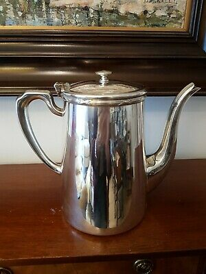 Antique Large EPNS A1 'Belvin' Plate Coffee Tea Pot