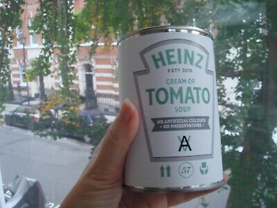 Limited Edition Daniel Arsham Heinz Cream of Tomato Soup Selfridges Exclusive