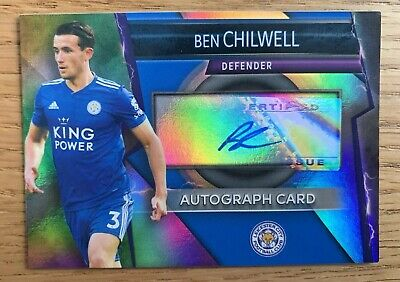 Match Attax Ultimate 2018/19 Ben Chilwell Autograph Card Mint Leicester City