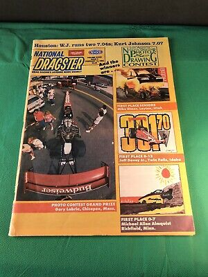 National Dragster NHRA Magazine / Volume XXXIV Issue 5 FEB.12 1993 / Beautiful