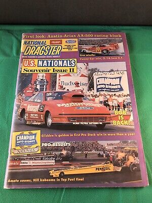 National Dragster NHRA Magazine / Volume XXXIII Issue 34 SEP.4 1992 / Beautiful