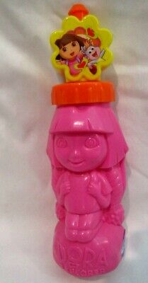 Dora the Explorer+Boots 14 oz Tumbler Water Bottle with Pop up Top New! RARE