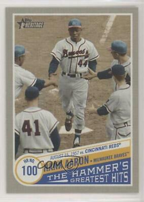 2019 Topps Heritage High Number The Hammer's Greatest Hits #THGH-4 Hank Aaron