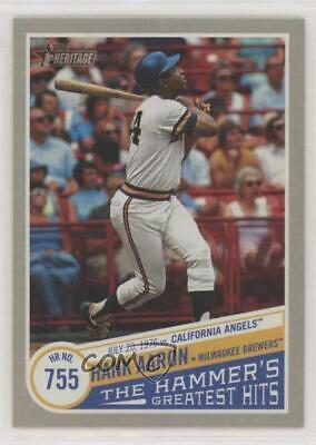 2019 Topps Heritage High Number The Hammer's Greatest Hits #THGH-11 Hank Aaron