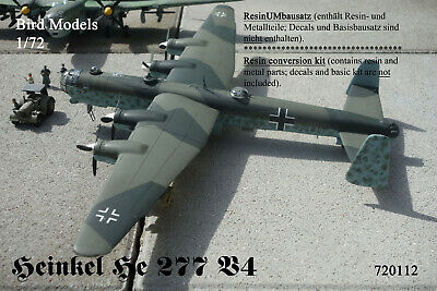 Hütter Hü 211      1//72 Bird Models ResinUMbausatz resin conversion kit