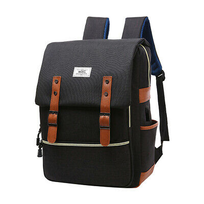 Backpack Daypack Business School Fits 15 Inch Laptop With USB Charging Port