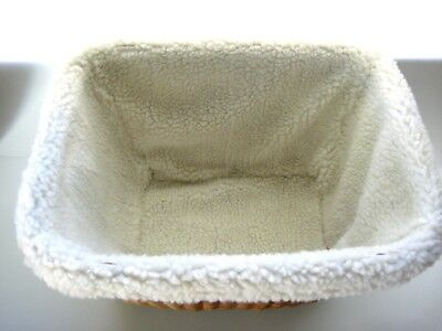 PARTING OUT Solvit Tagalong Pet Basket LINING ONLY