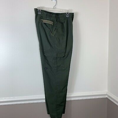5.11 Tactical Cargo Pants TacLite Series Forest Green 74273 Sz 32 X 30 Military