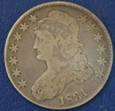 1831 VERY GOOD  U.S. Capped Bust Half Dollar