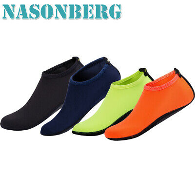NASONBERG Barefoot Water Skin Shoes Aqua Socks for Beach Swim Surf Yoga Exercise
