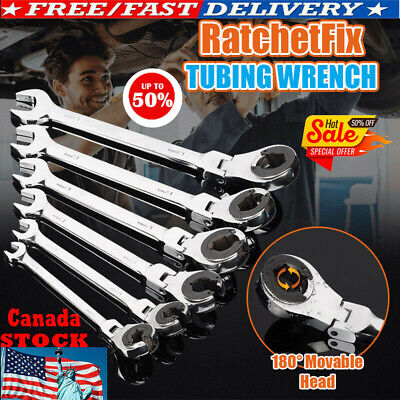 RatchetFix Tubing Wrench with Flexible Head - FREE SHIPPING 50% OFF
