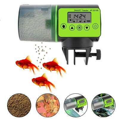200ml PRO Automatic Fish Feeder With Timer For Aquarium Fish Tank Auto Feeders