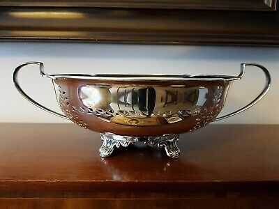 Excellent Silver Plated Bowl By Atkin Brothers