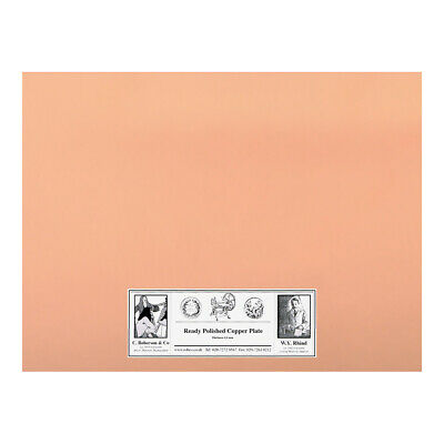 Roberson Polished Copper Etching Plate 200x150x1.2mm