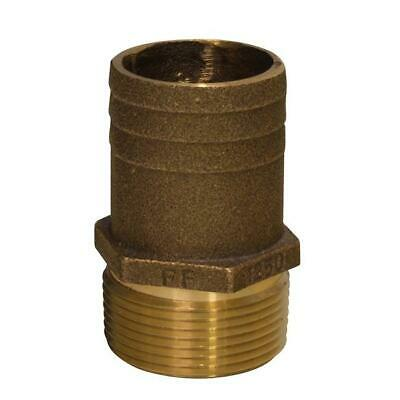 6-Pack The Hillman Group 56166 3//16 x 1//4-Inch IPS Brass Hose Barb