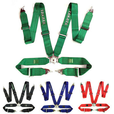TAKATA Racing Seatbelts MPH-341 Car Belts 4 Point Sparco Harness race Bucket