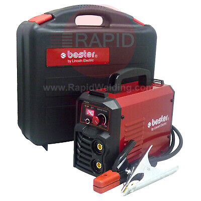 Lincoln Bester 155-ND Inverter Arc Welder Package with Two Year Warranty - 230v