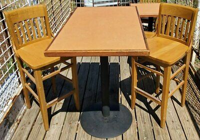 83 pc. Wood Restaurant Tables & Chairs