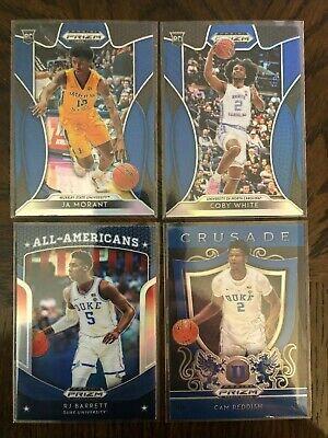 2019-20 Prizm Draft You Pick Blue Exclusive Rookie #1-100 Complete Your Set Zion