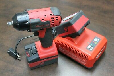 "Snap-on CT8810B 18V 3/8"" Drive MonsterLithium Impact Wrench 2-batteries&charger"