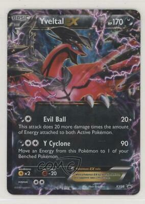 *Pokemon JAPANESE XY Black Star Promo XYc Yveltal EX 005//023  **MINT**