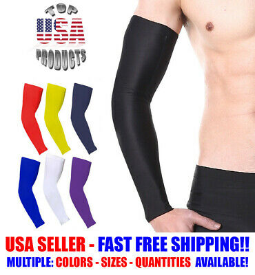 Arm Sleeve For Basketball Running Sports UV Sun Protection Protective Gear 2pcs
