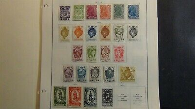 Liechtenstein stamp collection on Scott Int'l pages w/ 357 or so stamps '80