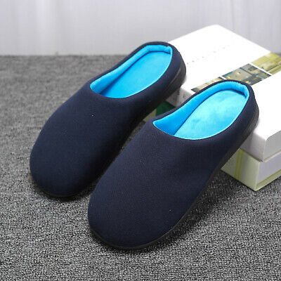 Mens Slippers  Classic Slip on Clogs Memory Foam Winter Warm Slippers Size