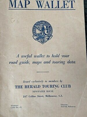 The Herald Touring Club , Map Wallet