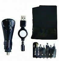 Car Charger Kit Inc Iphone F84559 Rockland Genuine Top Quality Product New
