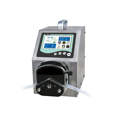 Flow Rate Peristaltic Pump V6, 0.000166-2280 mL/min, LCD, Transfering Animation