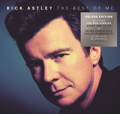 Rick Astley The Best Of Me Deluxe Edition 2 CD Nuovo Sigillato