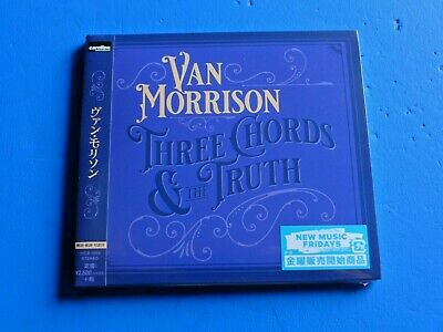 2019 Japan Cd Van Morrison Three Chords And The Truth Digi Sleeve