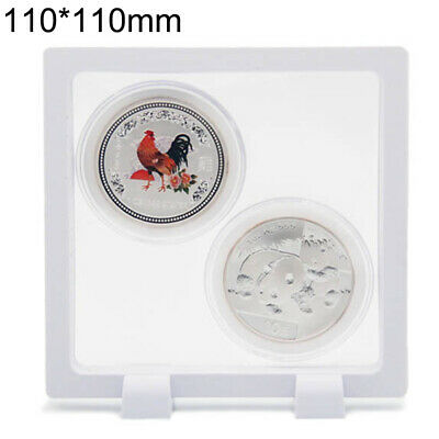 Coins Display Box Stand Holder Storage Container Collections Home Decorations