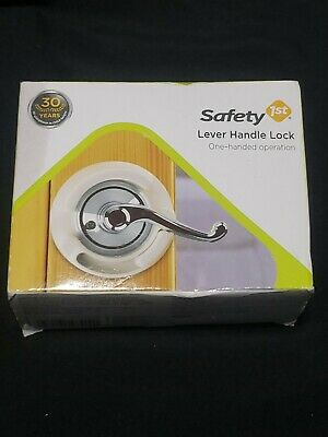 Safety 1st Lever Handle Lock One Handed Operation Child Protection Device. New