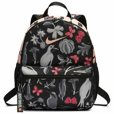 Nike Brasilia JUST DO IT Printed Kids Junior Mini Backpack Girls Ruc sack PE Bag