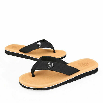 Mens Summer Thongs Flip Flops Sandals Beach Shoes Slippers Outdoor Classic Shoes